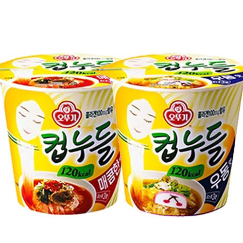 컵누들(매콤/우동)소컵 [6입]