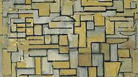 """Composition in Brown and Gray,"" Piet Mondrian"