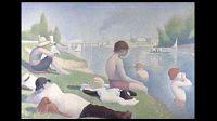 Seurat, Bathers at Asnières, 1884