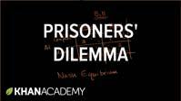 Prisoners' dilemma and Nash equilibrium
