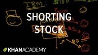 Shorting stock