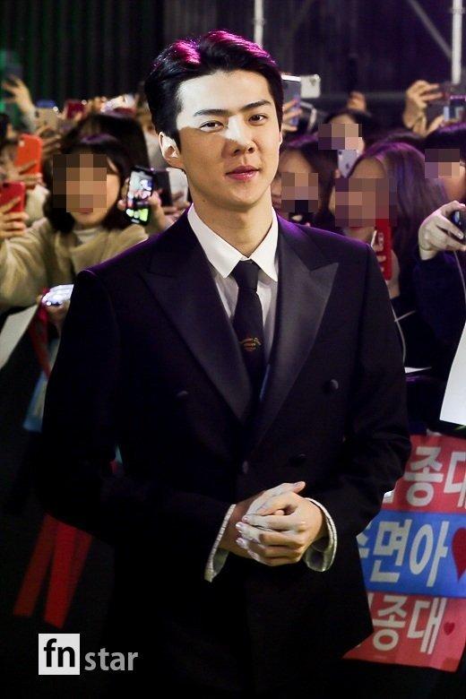 EXO世勋,《绅士的温馨微笑》