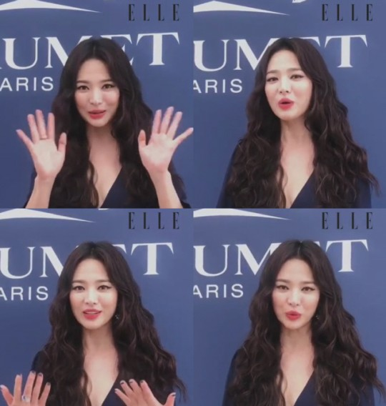 [K-Star]: Song Hye Kyo Shines At Jewelry Event In Monaco