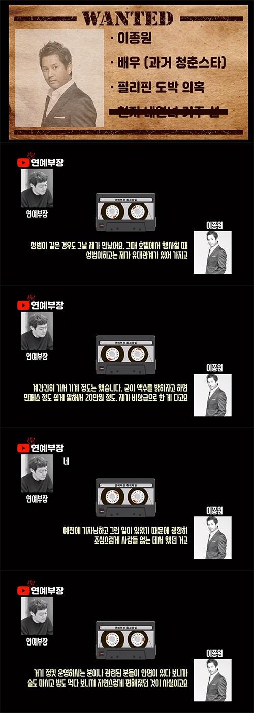 """김용호 """"탁재훈 변수미 이종원 '도박방 연예인'""""…강성범 권상우 이어 '추가폭로'[종합]   인스티즈"""