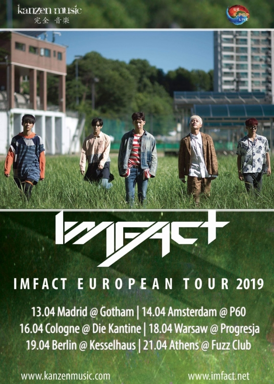 IMFACT to have Europe tour in April
