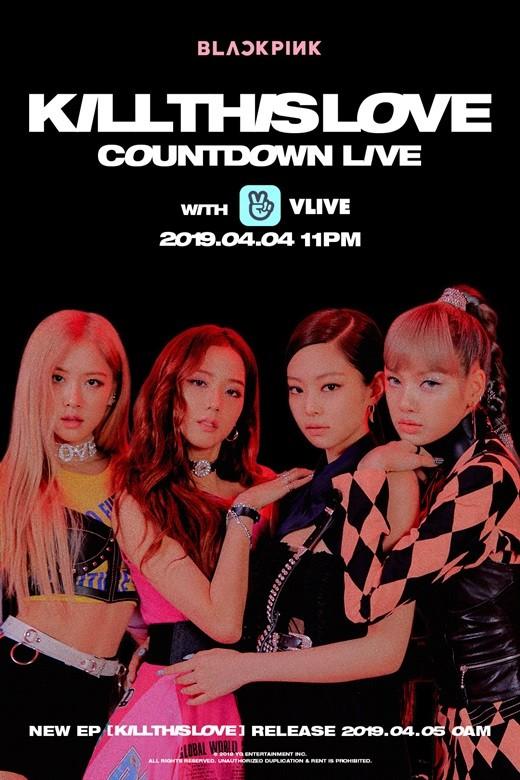 Blackpink sẽ livestream cùng fan đếm ngược đến comeback