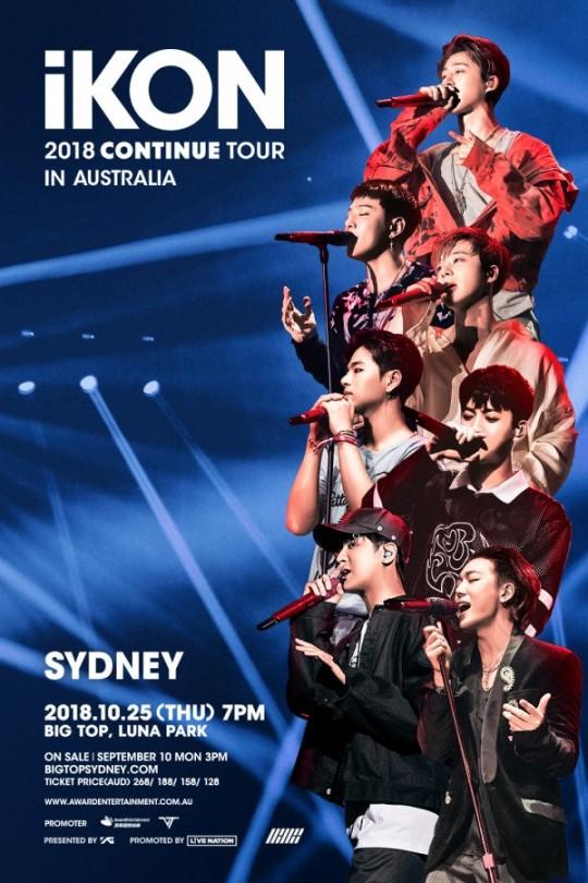 iKON announce first-ever Australian concerts | SBS PopAsia