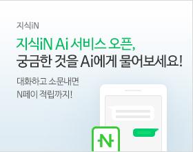 지식iN, 지식iN Ai 서비스 오픈, 궁금한 것을 Ai에게 물어보세요. 대화하고 소문내면 N페이 적립까지